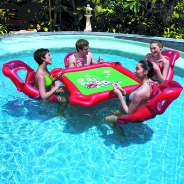 Make summer a blast with pool party products pool party for Swimming pool poker