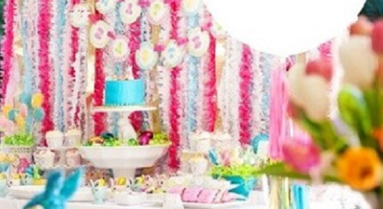 Stylish and posh party supplies