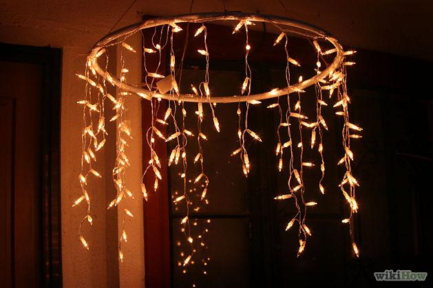 hula hoop chandelier wiki common