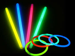 glow sticks and rings for ringtoss