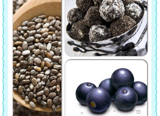 Delicious, Decadent and Healthy Dessert: Acai Chia Truffles (No Bake Recipe)