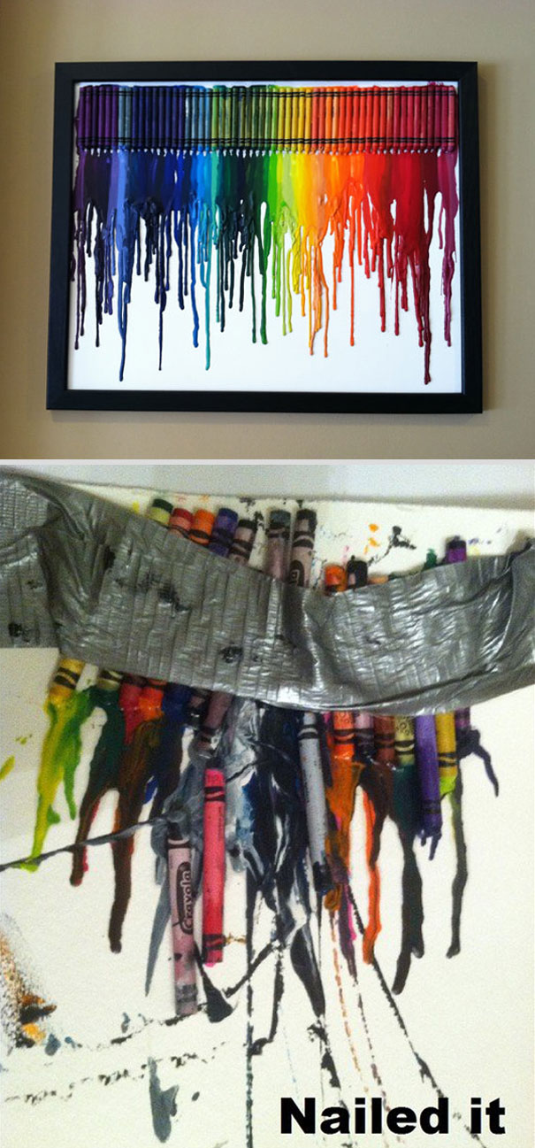 crayon art fail