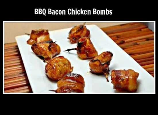 How to make BBQ bacon chicken bombs