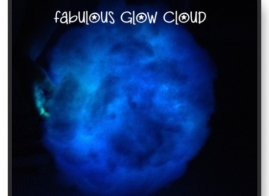 How To Make A Fabulous Fluffy Glow Cloud