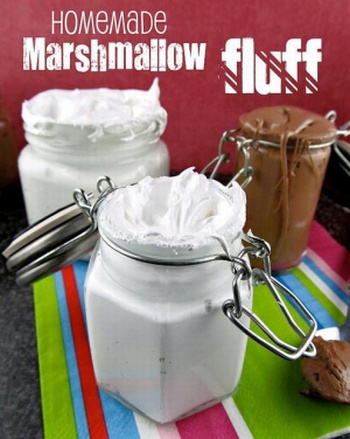 Homemade fluffy marshmallow recipe