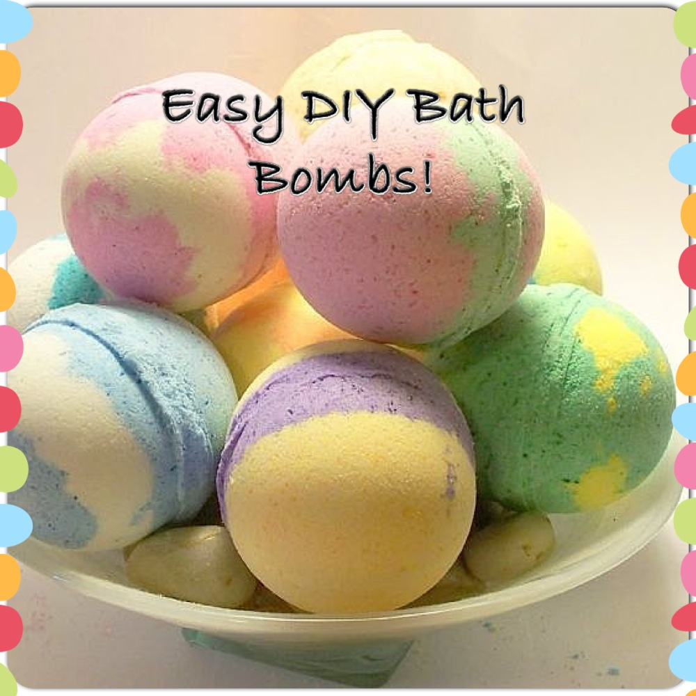 easy diy bath bombs