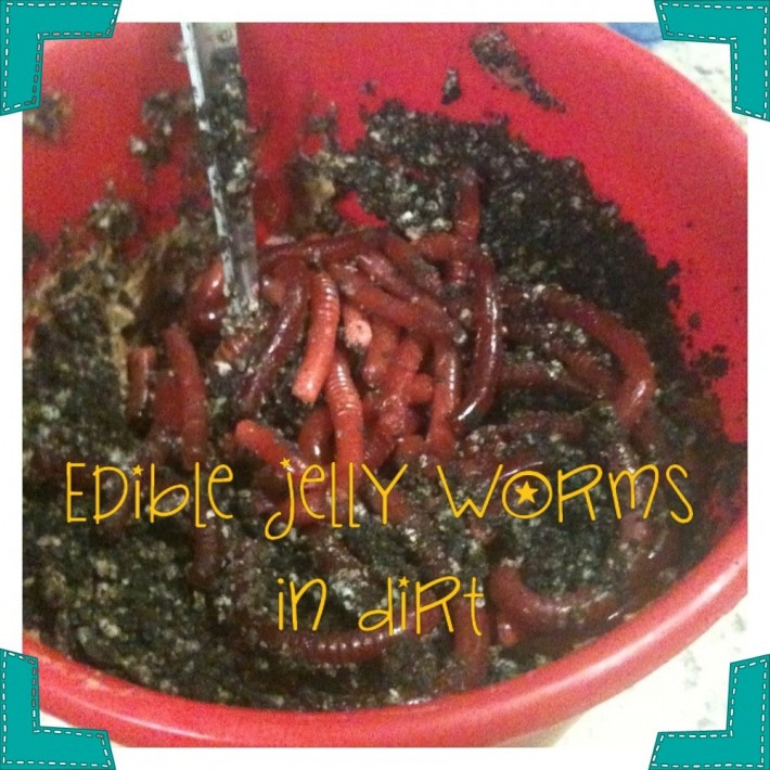 Edible Jelly Worms For Kids