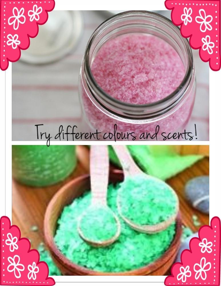 different colour scents