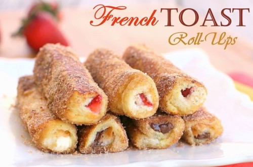 How to make yummy french toast roll ups