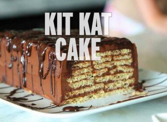 How to make an amazing kit kat cake
