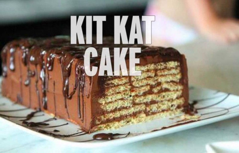 How to make an amazing kit kat cake