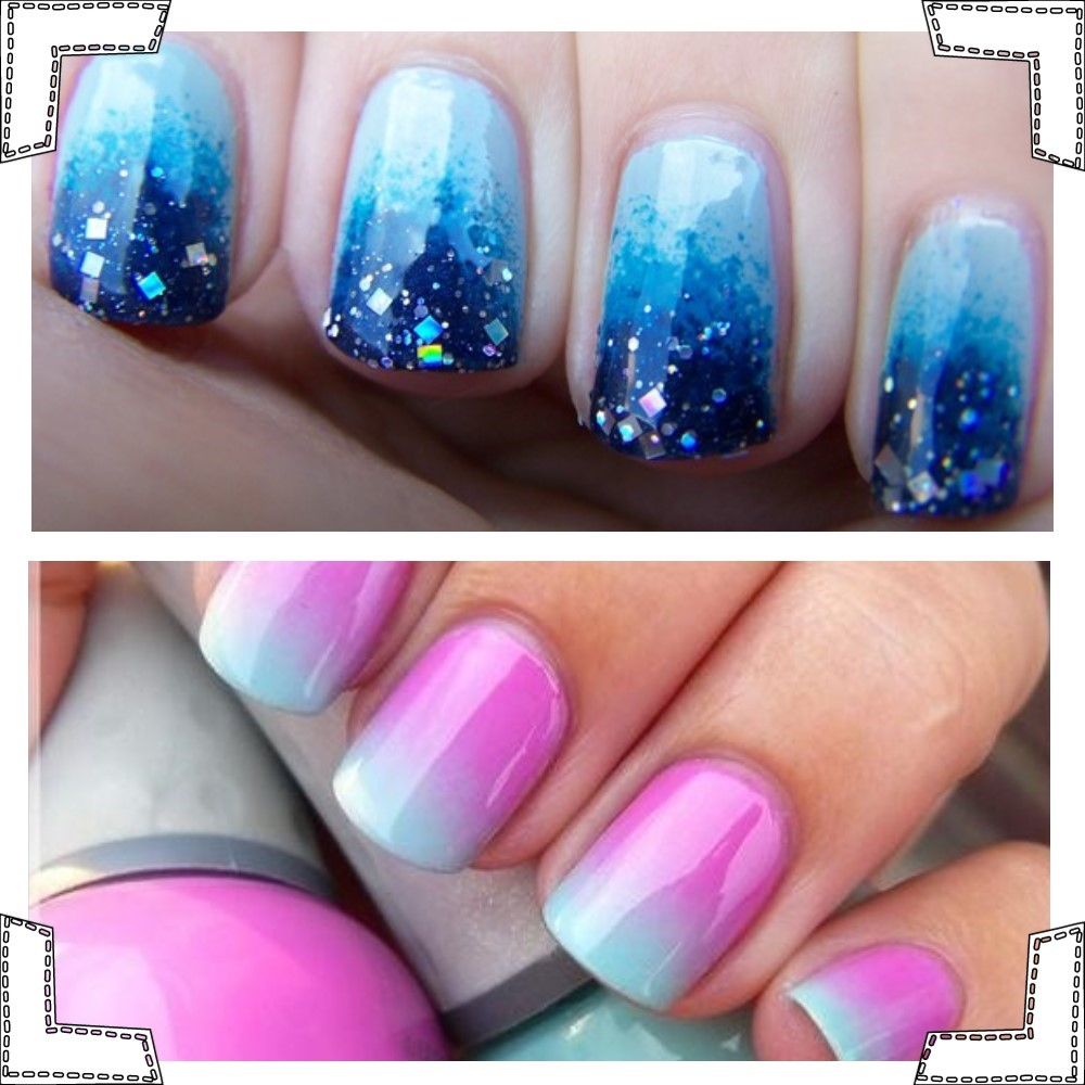 Easy Ombre Nails Tutorial Partysuppliesnow