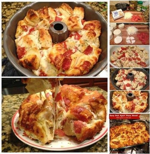 Discover the Secrets To Delicious Pull Apart Pizza Bread You've Always Dreamed Of