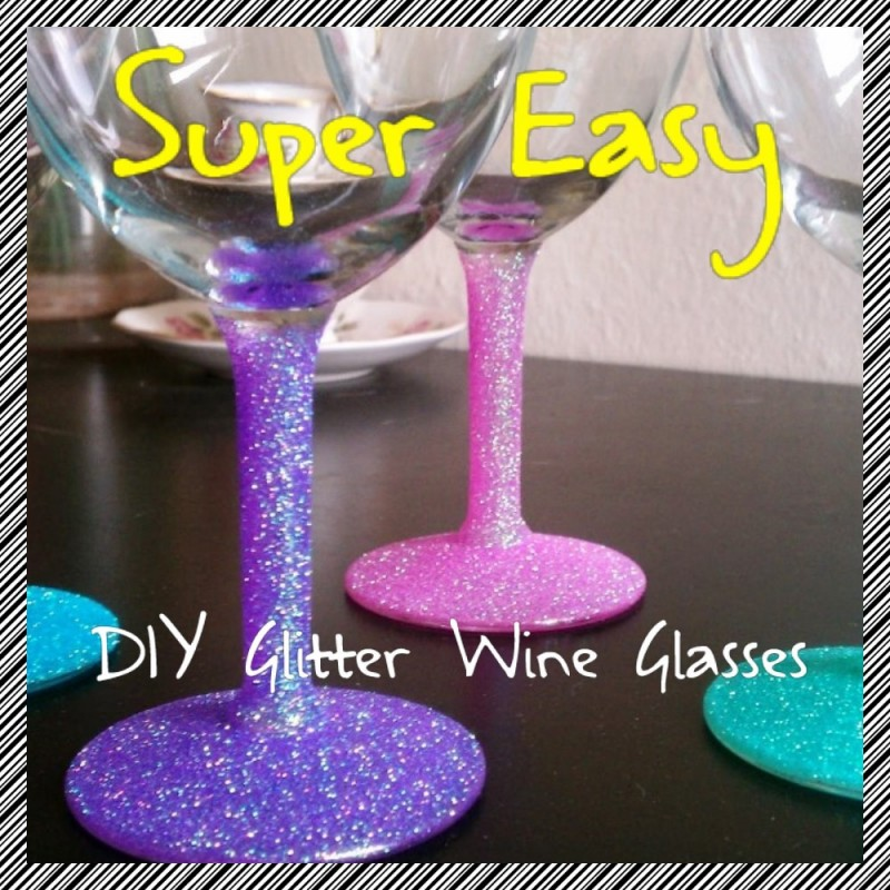 Diy Glitter Wine Glasses | PartySuppliesNow.com.au: partysuppliesnow.com.au/blog/diy-glitter-wine-glasses