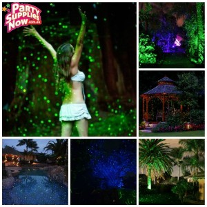 laser garden light
