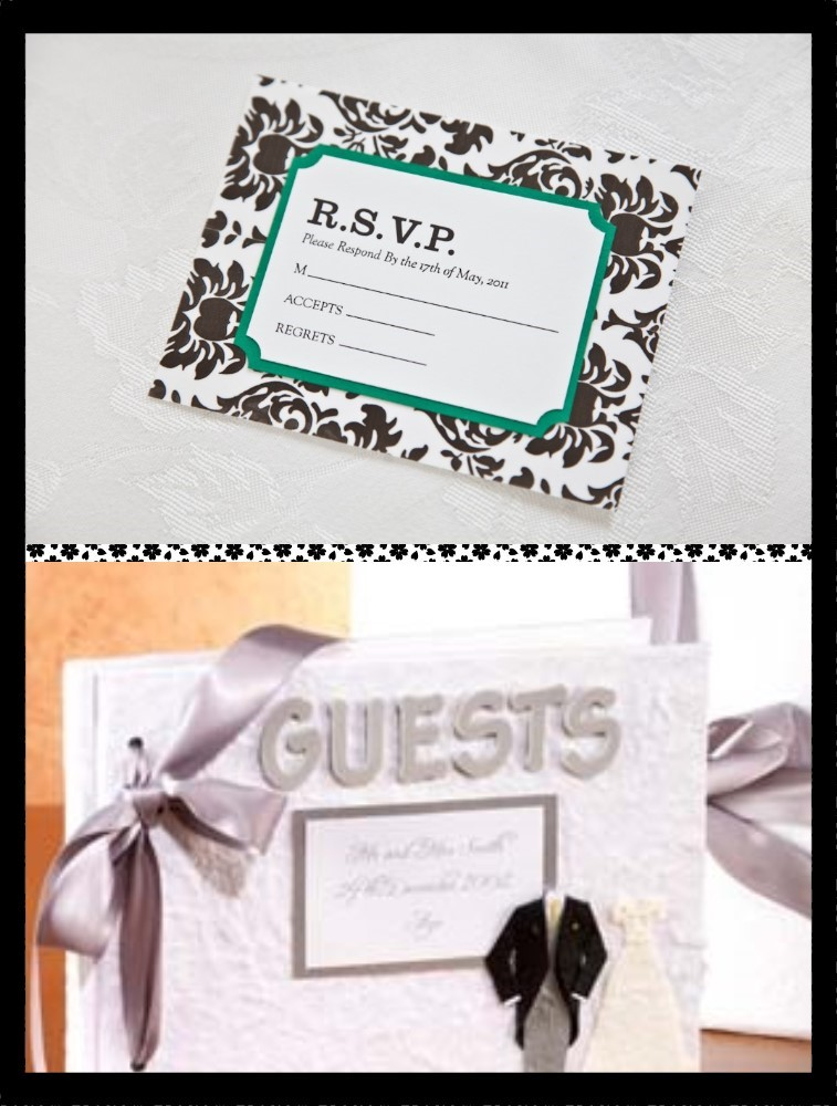wedding guest rsvp and list