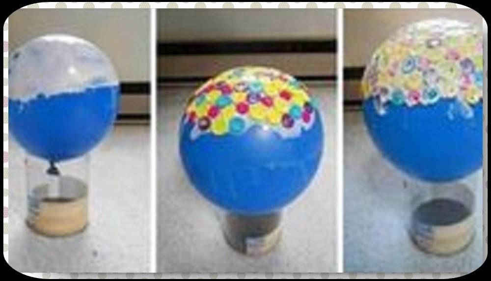 balloon glue buttons