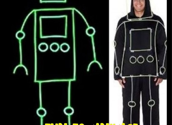 Glow Stick Person Halloween Costume