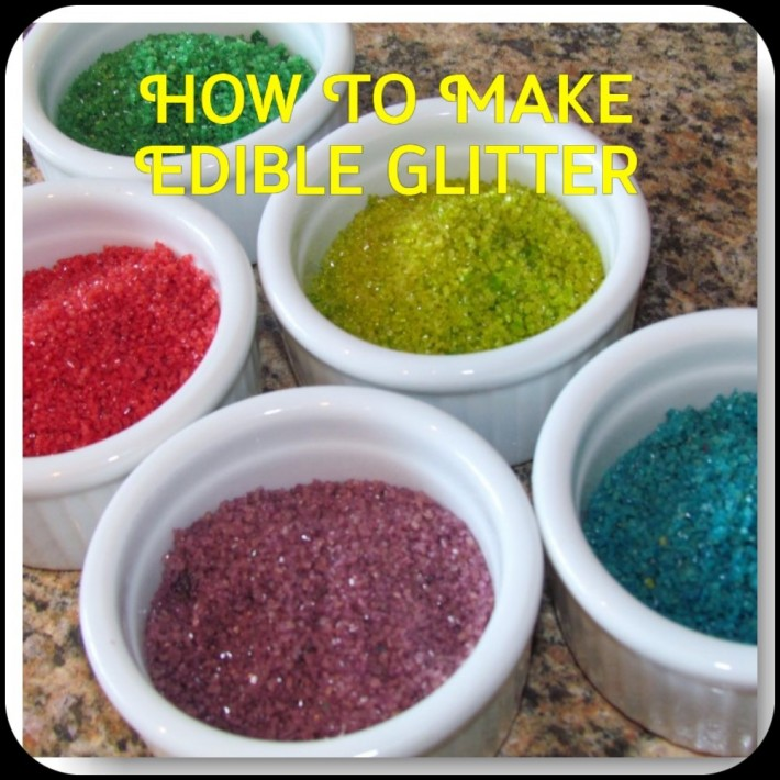 How To Make Edible Glitter