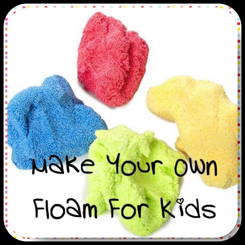 How To Make Your Own Floam At Home