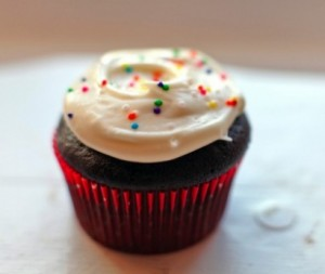 dark chocolate cupcakes for parties