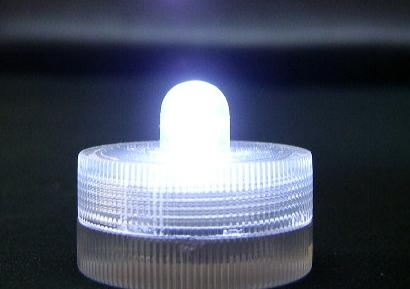 White Submersible LED light