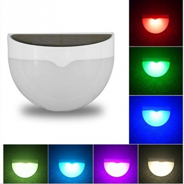 Solar powered multi coloured outdoor light solar multi colour outdoor path light aloadofball Image collections