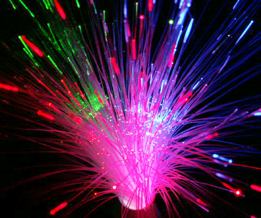Fibre Optic multi-colour lamp
