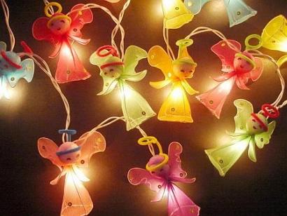 angel string lights