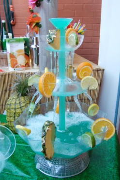 Cocktail fountain - Punch Fountain