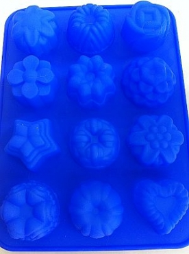 Flower Shapes Baking Case Mould