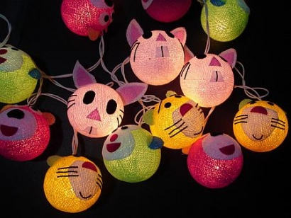 Cartoon Ball String Light