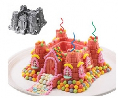 Castle Cake Pan Mold