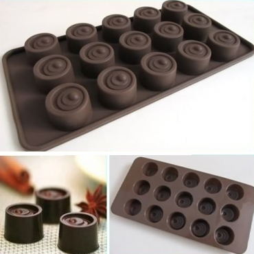Chocolate buttons mold
