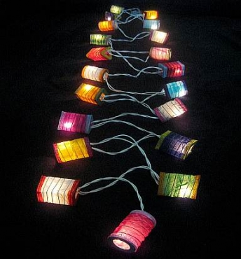Colour Lantern String Light