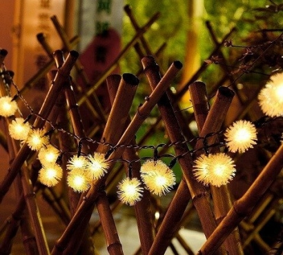 Solar Powered Dandelion Lights