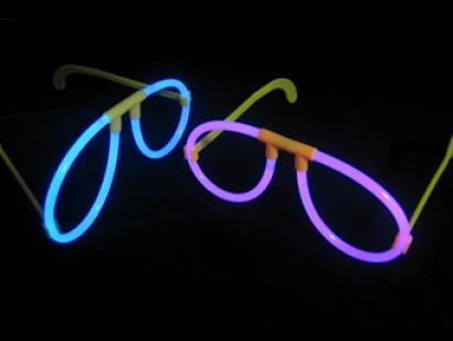 Glow In The Dark Glasses Fun Glow Accessory For Fancy