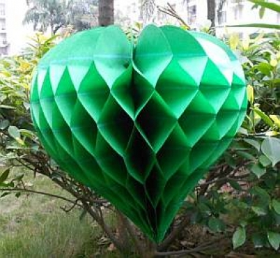 Green Heart Honeycomb