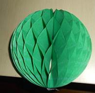 Green Honeycomb Round Ball 40cm