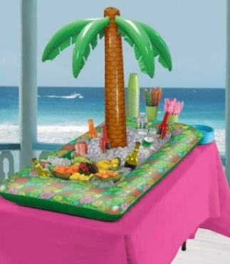Inflatable Tropical Buffet Cooler
