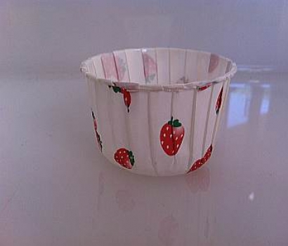 Strawberry Cupcake Liners