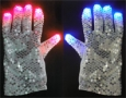 Flashing Sequin Gloves